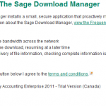 Recommend to select SA Download Manager
