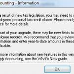 New Tax Legislation