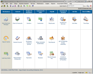 Sage 50 Simply Accounting Accountant Edition Image 1