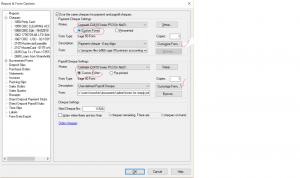 Chq Format Option